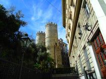 古老热那亚人的塔 库存照片