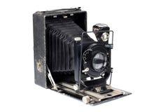 古老照相机和案例四 库存图片