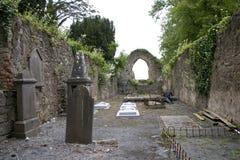 古老爱尔兰坟园 库存照片