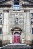 古老犹太教堂在布拉格 图库摄影