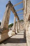 古老犹太教堂废墟 免版税图库摄影