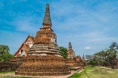 古老王宫在泰国 免版税库存照片