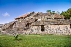 古老玛雅人城市Ek Balam,尤加坦,墨西哥 库存图片