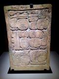 古老玛雅人艺术 库存图片