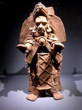 古老玛雅人艺术 免版税库存图片