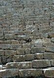 古老玛雅废墟步骤 库存图片