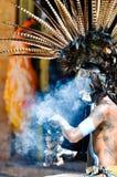 古老玛雅战士 图库摄影