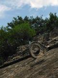 古老玛雅状况皮茨的目标 图库摄影
