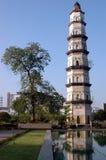 古老瓷塔 免版税图库摄影