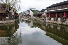 古老瓷村庄 库存图片