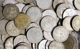 古老瓷货币 库存图片