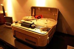 古老电唱机以前时代 免版税库存照片
