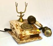 古老电话 图库摄影