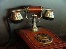 古老电话 库存图片