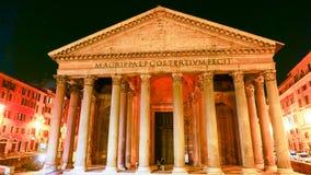 古老的天主教堂在罗马-万神殿 库存照片