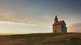 古老的天主教堂在Drazovce 库存图片