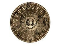 古老盾 免版税图库摄影