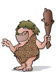 古老石器时代的穴居人 图库摄影