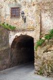 古老石堡垒门 更加气味强烈的摩洛哥 免版税库存照片