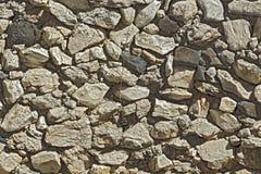 古老石墙纹理。 免版税库存照片