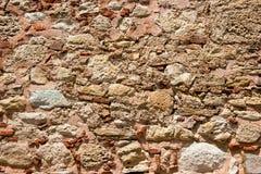 古老石墙 库存图片