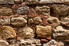 古老石墙 免版税库存图片