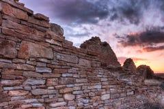 古老石墙 免版税库存照片