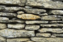 古老石墙 库存照片