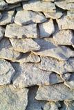 古老石瓦片 库存图片