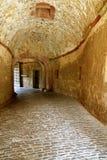 古老石隧道 免版税库存图片