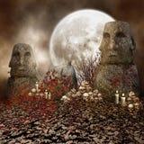 古老石头 免版税库存照片