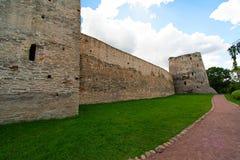 古老砖墙 免版税库存图片