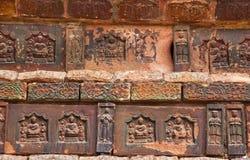 古老砖瓷铁开封塔 库存图片