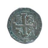 古老硬币 免版税库存照片