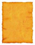 古老空白原稿纸莎草 免版税图库摄影