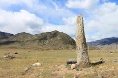 古老纪念碑 免版税库存图片