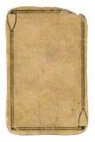 古老纸牌难看的东西使用了与线的纸背景 免版税库存图片