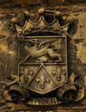 古老纹章学的象征 图库摄影