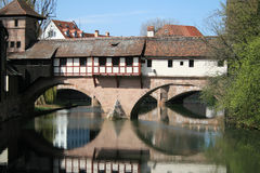 古老纽伦堡nurnberg结构 免版税库存图片