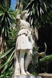 古老经典希腊雕象 免版税图库摄影