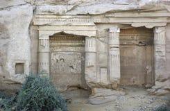 古老结构上详细资料埃及 免版税库存照片