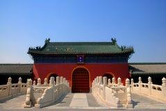 古老结构汉语 免版税库存图片
