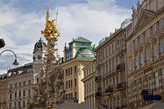 古老结构维也纳 图库摄影