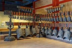 古老编钟在中国 图库摄影