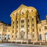 古老罗马圆形剧场;普拉,克罗地亚 免版税库存图片