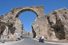 古老罗马城市 免版税图库摄影