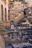 古老罗马墙壁 免版税库存图片