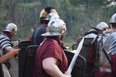 古老罗马战士3 免版税库存图片