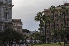 古老罗马罗马市 免版税库存图片