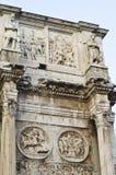 古老罗马雕塑 免版税库存图片
